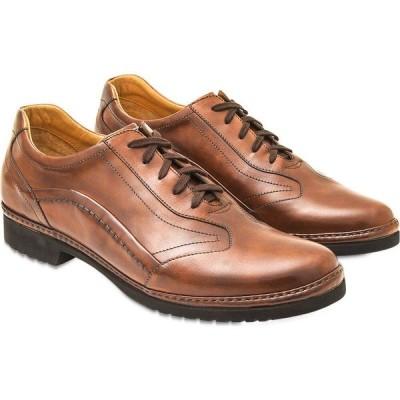 パーカーソン Pakerson メンズ 革靴・ビジネスシューズ レースアップ シューズ・靴 Tan Italian Handmade Leather Lace-up Shoes Tan