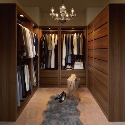 家具 収納 衣類収納 ハンガーラック 国産メーカーが作るLEDライト付きワードローブ ハンガー1段引き出し2杯 幅80cm 555337