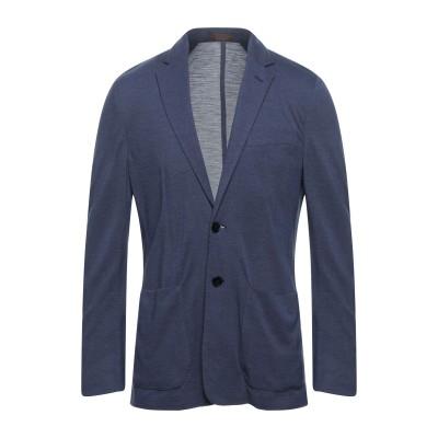 CORNELIANI ID テーラードジャケット ダークブルー 54 カシミヤ 70% / シルク 30% テーラードジャケット