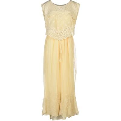 ツインセット シモーナ バルビエリ TWINSET ロングワンピース&ドレス アイボリー S 100% コットン ナイロン ロングワンピース&ドレス