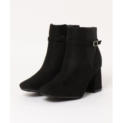 Mafmof / Realta(レアルタ) ベルトデザインサイドゴア ブーツ WOMEN シューズ > ブーツ