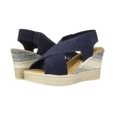 Bella-Vita ベラヴィータ レディース 女性用 シューズ 靴 ヒール Bec-Italy - Navy Italian Suede Leather