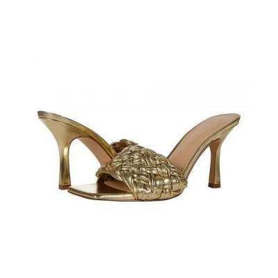 Marc Fisher LTD マークフィッシャーリミテッド レディース 女性用 シューズ 靴 ヒール Draya - Gold Leather