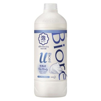 ビオレu ザ ボディ 泡タイプ ピュアリーサボンの香り 詰め替え 450ml 花王