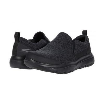 SKECHERS Performance スケッチャーズ メンズ 男性用 シューズ 靴 スニーカー 運動靴 Go Walk Evolution Ultra - Vectron - Black/Charcoal