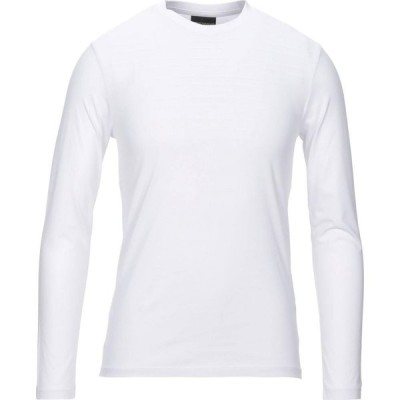 アルマーニ EMPORIO ARMANI メンズ Tシャツ トップス t-shirt White
