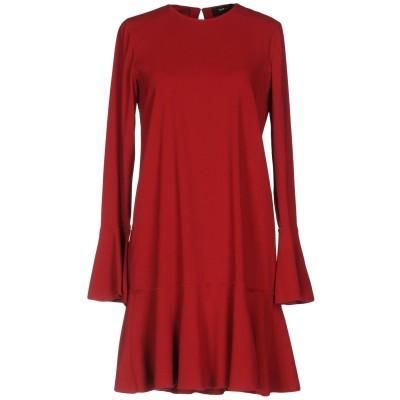 セオリー THEORY ミニワンピース&ドレス レッド 2 レーヨン 98% / ポリウレタン 2% ミニワンピース&ドレス
