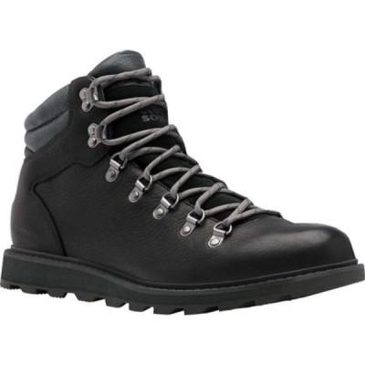ソレル ブーツ&レインブーツ シューズ メンズ Madson Hiker II Waterproof Boot (Men's) Black Waterproof Full Grain Leather/Suede