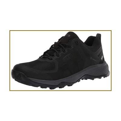 KEEN Men's Explore Waterproof Hiking Shoe, Black/Magnet, 11【並行輸入品】