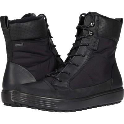 エコー ECCO レディース ブーツ シューズ・靴 Soft 7 Tred Winter Boot Black/Black/Black