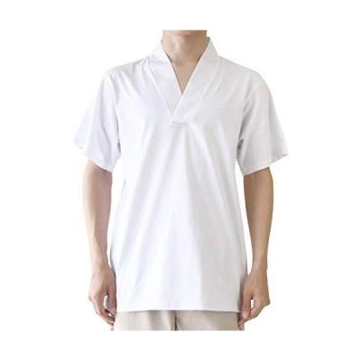 [キョウエツ] 半襦袢 Tシャツ 夏用 絽 洗える 襦袢 男性 メンズ (M)