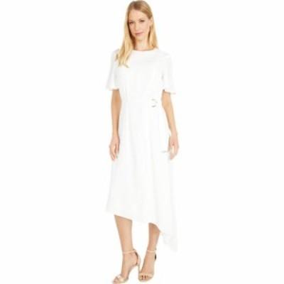 テッドベーカー Ted Baker レディース ワンピース ワンピース・ドレス Asymmetric D Ring Detail Dress White