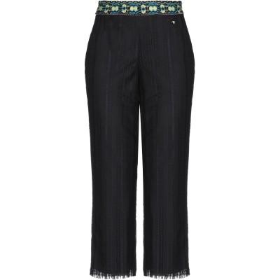 トラサルディ ジーンズ TRUSSARDI JEANS パンツ ブラック 38 ナイロン 100% / コットン / レーヨン パンツ