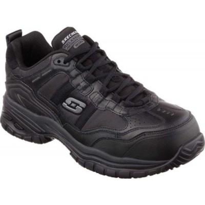 スケッチャーズ Skechers メンズ ブーツ ワークブーツ シューズ・靴 Work Relaxed Fit Soft Stride Grinnell CT Boot Black