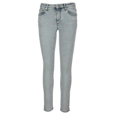 オフホワイト レディース デニムパンツ ボトムス Off-White Skinny Fit Jeans -