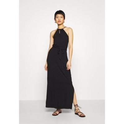 エブンアンドオッド ワンピース レディース トップス Maxi dress - black