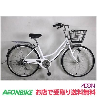 【お店受取り送料無料】モーリスファミリーB ホワイト 外装6段変速 27型 通勤 通学 自転車