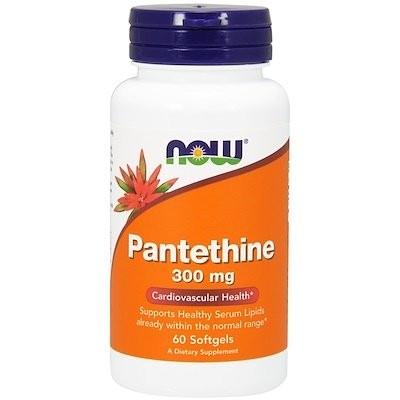 パンテチン, 300 mg, 60ソフトジェル