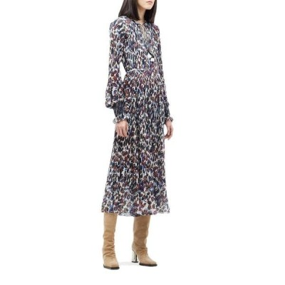 デレクラムテンクロスバイ レディース ワンピース トップス Nemea Pleated Maxi Dress w/ Smocking Detail