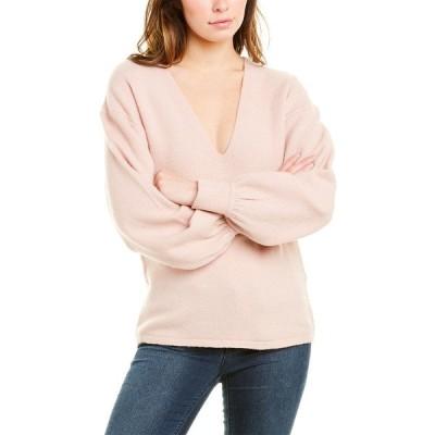 エキプモン ニット&セーター アウター レディース Equipment Liriene Wool-Blend Sweater misty rose