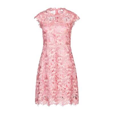 ELIE TAHARI ミニワンピース&ドレス ピンク 10 ポリエステル 90% / 金属 10% ミニワンピース&ドレス