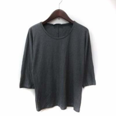 【中古】マックスマーラ MAX MARA カットソー Tシャツ 長袖 M グレー /YI レディース