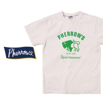 Tシャツ メンズ フェローズ 定番 アメカジ Pherrows ロゴ 定番 40代  50代 大人 定番 アメカジ HEATH 横浜 ヒース