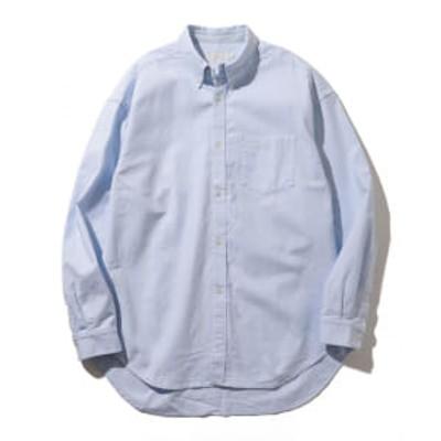 B:MING by BEAMS / オックス ワイドフィット ボタンダウンシャツ