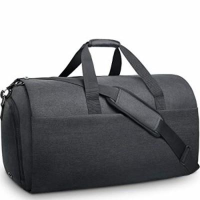NEWHEY ガーメントバッグ メンズ ボストンバッグ ダッフルバッグ 修学 旅行 スーツバッグ 折りたたみ 大容量 靴収納 スーツ収納 出張 就