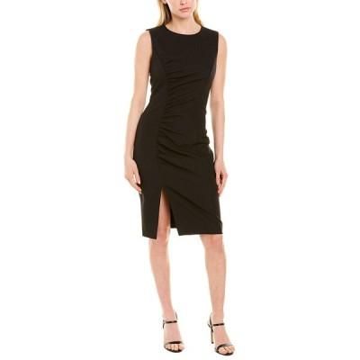 ミリー ワンピース トップス レディース Milly Hera Ruched Sheath Dress black