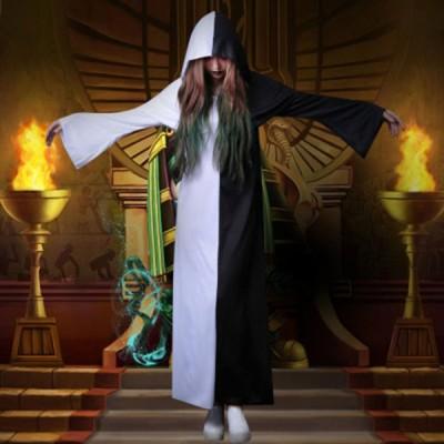 レディースコスプレ 魔法師悪魔系コスプレ衣装魔女女巫ハロウィンバンパイア 女性用 仮装 イベント衣装 Halloween衣装 演劇ステージ服