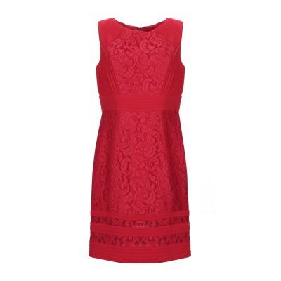 EVASSÉ ミニワンピース&ドレス レッド 42 ポリエステル 100% ミニワンピース&ドレス