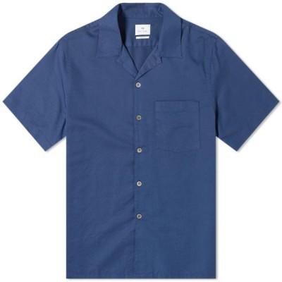 ポールスミス Paul Smith メンズ シャツ トップス Vacation Shirt Navy
