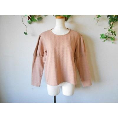 ストリートオルガン STREET ORGAN お袖 の 可愛い 薄手 セーター M