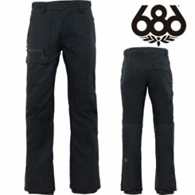 シックスエイトシックス ウェア パンツ 20-21 686 VICE PANT Black M0W214 スノーボード 日本正規品