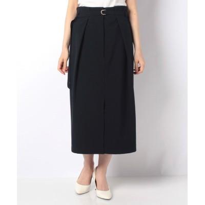 【ラピーヌ ブルー】 ルイーズタイトスカート レディース ネイビー 38 LAPINE BLEUE