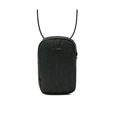(pacsafe/パックセーフ)パックセーフ ショルダーバッグ pacsafe RFIDクロスボディバッグ ショルダーポーチ 斜めがけ RFID 盗難防止 防犯 スキミング防止 海外旅行/ユニセックス グレー