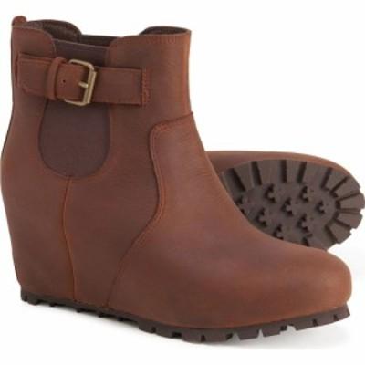 メレル Merrell レディース ブーツ ウェッジソール シューズ・靴 tremblant buckle wedge boots - leather Copper Mountain