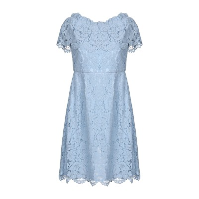 BY MALINA ミニワンピース&ドレス スカイブルー L ポリエステル 100% ミニワンピース&ドレス