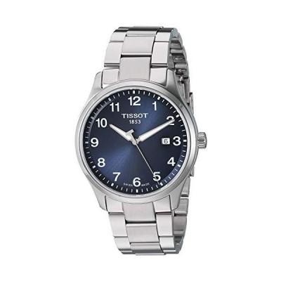 Tissot Men's Gent XL Swiss Quartz Stainless Steel Strap, Grey, 22 Casual Watch (Model: T1164101104700)