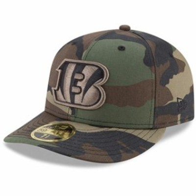 New Era ニュー エラ スポーツ用品  New Era Cincinnati Bengals Woodland Camo Low Profile 59FIFTY Fitted Hat