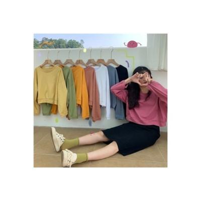 【送料無料】シャツ 女 秋 韓国風 ルース 単一色 着やせ 何でも似合う ファッショ   364331_A63603-8311989