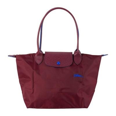 ロンシャン トートバッグ TOTE BAG S 2605 619 P22 ワインレッド系/ブルー 青