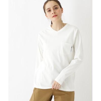 BASE CONTROL 長袖 Tシャツ Vネック