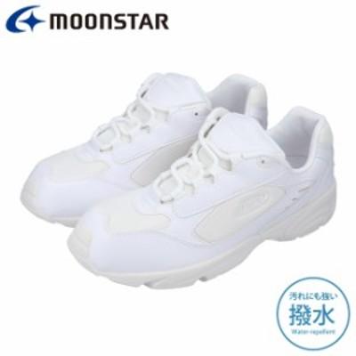 ムーンスター アドヴァン スニーカー メンズ レディース MOONSTAR ADVAN 131A 白 22.0cm~30.0cm 軽量 撥水 メッシュ アドバン 運動靴