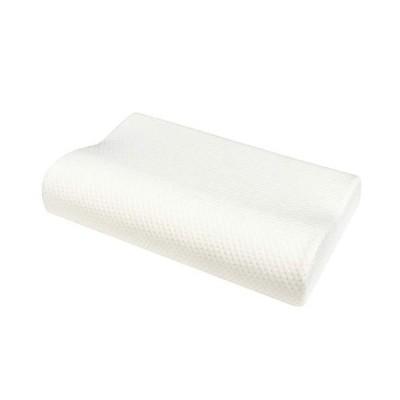 CoolTry 安眠枕ボックスシーツセット 低反発枕 頚椎サポート 50*30cm ホワイト マットレスカバー 防ダニ 抗菌 360ゴ
