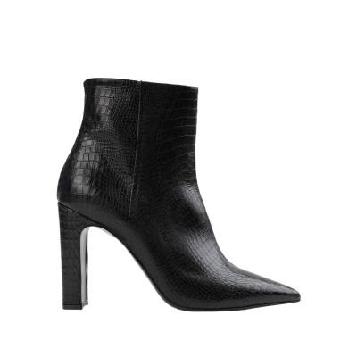 GIAMPAOLO VIOZZI ショートブーツ ブラック 40 牛革(カーフ) 100% ショートブーツ