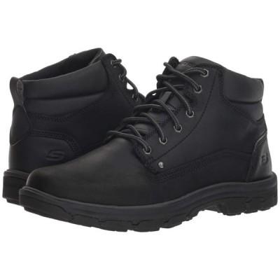 スケッチャーズ SKECHERS メンズ ブーツ シューズ・靴 Relaxed Fit Segment Garnet Black