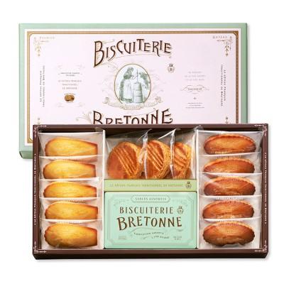 ビスキュイテリエ ブルトンヌ ブルターニュ クッキー・ガトー アソート(13個+1缶入)