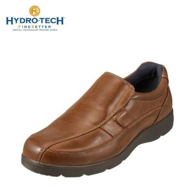ハイドロテック ウォーキング HYDRO TECH HD1344 メンズ | ウォーキングシューズ 防水 | 軽量 幅広 | ブラウン